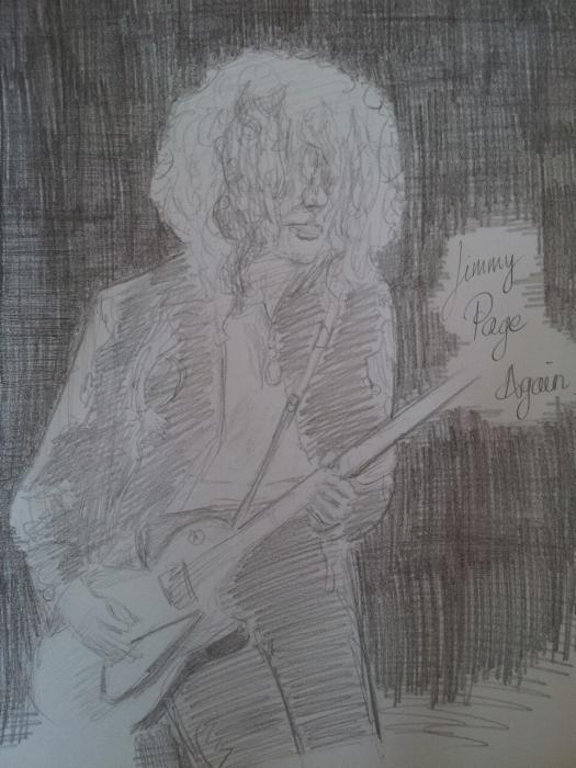 Jimmy Page by Uribaba